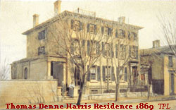 Thomas Denne Harris Resident, 1869