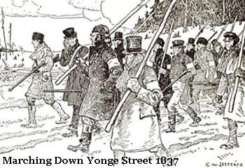 Marching Down Yonge Street