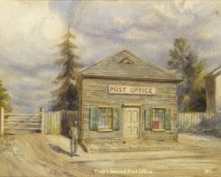 Illustration of York's Second Post Office