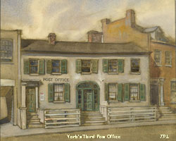 Illustration of York's Third Post Office